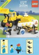 Set 6481 BOUWBESCHRIJVING- Construction Crew gebruikt loc LOC M2