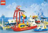 Set 6542 BOUWBESCHRIJVING- Launch & Load Seaport gebruikt loc LOC M2