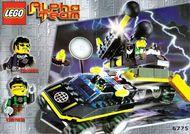 Set 6775 BOUWBESCHRIJVING- Alpha Team: Bomb Squad  gebruikt loc