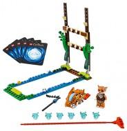 Set 70111 - Legends of Chima: Swamp Jump  zonder doos- gebruikt