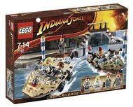 Set 7197-G - Indiana Jones: Venice Canal Chase D/H/C 97-100%- Nieuw