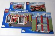 Set 7208 BOUWBESCHRIJVING- Fire Station Belville gebruikt loc