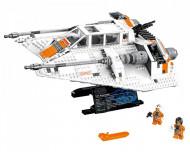 Set 75144-GB Snowspeeder- USC gebruikt deels gebouwd *B036