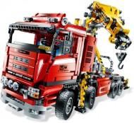 set 8258 Crane Truck (NIEUW)
