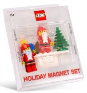 Set 852119 - Holiday: Santa Magnet Set- Nieuw