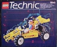 Set 8840 Technic Rally Shock n'Roll Racer-Nieuw