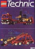 Set 8872 BOUWBESCHRIJVING- Forklift Transporter gebruikt loc