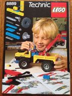 Set 8889 Technic Ideas book  NIEUW loc