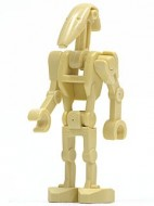 sw0001bG Star Wars:Battle Droid zonder rugplaat gebruikt *0M0000