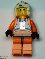 sw019 Star Wars:Luke Skywalker (pilot)  NIEUW loc