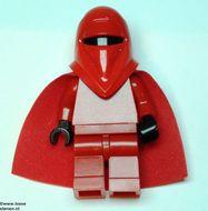 sw040a Star Wars:Imperial Guard met zwarte handen en rode cape NIEUW loc