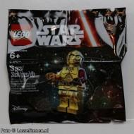 sw653 Star Wars: C-3PO Donkerrode armen (wordt geleverd in polybag) NIEUW loc