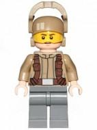 SW697 Star Wars: Resistance Trooper- Creme jas, kinlijnen NIEUW loc