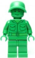 toy001G TOY STORY- Green Armour Man gebruikt loc
