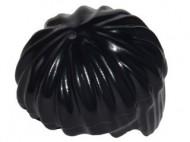 x219-11 Haar, bowl cut Zwart NIEUW loc
