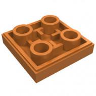 11203-150 Tegel 2x2 omgekeerd caramel, midden NIEUW *1L145
