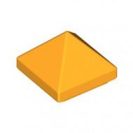 22388-110 DakNOK 45 graden PYRAMIDE 1x1 2/3 hoog top 4 zijdig oranje, lichthelder NIEUW *1B000