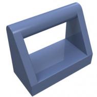 2432-55 Tegel 1x2 met hendel bovenop blauw, zandkleurig NIEUW *1L321