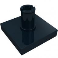 2460-11 Tegel 2x2 met pin zwart NIEUW *1L0000