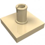 2460-2 Tegel 2x2 met pin crème NIEUW *1L0000