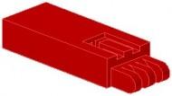 2650-5G Slider, basis zie ook 2651 rood gebruikt *1L0000