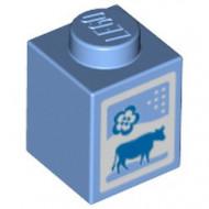 3005pb016-42 Melkpak (Friends) blauw, midden NIEUW *0M0000