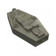 30164-10G Sarcophaag, deksel met reliëf mummy donker, grijs (klassiek) gebruikt *5K000