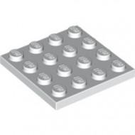 3031-1 Platte plaat 4x4 wit NIEUW *5K0000