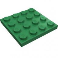 3031-6 Platte plaat 4x4 groen NIEUW *5K0000