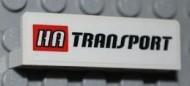 30413pb026-1G Paneel 1x4 HA TRANSPORT wit gebruikt *0D0000