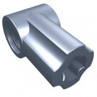 32013-78G Technic, Hoekverbinding #1 blauw, metal NIEUW *0L0000