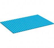3334-7G Basisplaat 16x24 (geen nopgaten onder0 blauw gebruikt *3K000