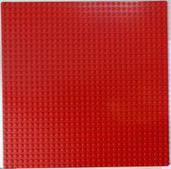 3811-5 Basisplaat 32x32 rood NIEUW *5T000