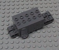 47715-7 Motor pull-back 9x4x2 2/3 (pakketzending!) grijs, donker (blauwachtig) NIEUW *5D0000