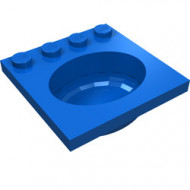 6195-7G Wasbak blauw gebruikt *5D0000