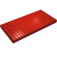 700eD-5G Steen/plaat 10x20 nieuwere tyoe nopgaten zijkant rood gebruikt *5K0000