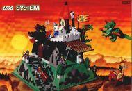 Set 6082 BOUWBESCHRIJVING- Fire Breathing Fortress Kastelen gebruikt loc LOC M6