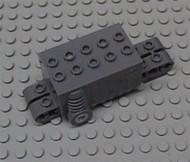47715-7 Motor pull-back 9x4x2 2/3 (pakketzending!) Grijs,donker-blwachtig NIEUW loc