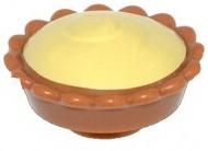 93568pb002-150 Pudding met lichtgele vulling Caramel NIEUW loc