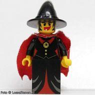 cas032G Frechts Knights - Witch, met cape gebruikt *0M0000