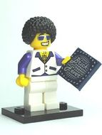 col02-13 Disco Dude tegel 'Brick Fever' standaard NIEUW loc