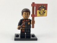 colhp-8 HP Dean Thomas met Gryffindor vlag NIEUW *0M0000