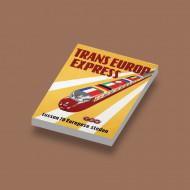 CUS1069 Trans Europa Express wit NIEUW *0A000