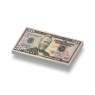 CUS7005 Tegel 1x2 Biljet 500 dollar geel *0A000