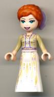dp070 Disney Prinsess- Anna, witte jurk NIEUW *0M0000