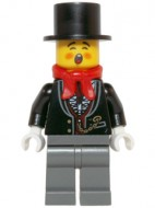 hol064 Zanger, hoge hoed NIEUW *0M0000