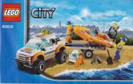 INS60012 60012 BOUWBESCHRIJVING- 4x4 Diving Boat gebruikt *