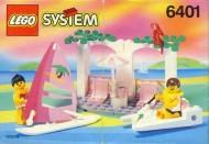INS6401-G 6401 BOUWBESCHRIJVING- Seaside Cabana gebruikt *LOC M2