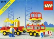 INS6671-G 6671 BOUWBESCHRIJVING- Utility Repair Lift gebruikt *LOC M3