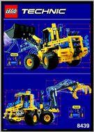 INS8439-G 8439 BOUWBESCHRIJVING- Front End Loader gebruikt *